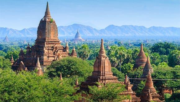 landscape of Myanmar