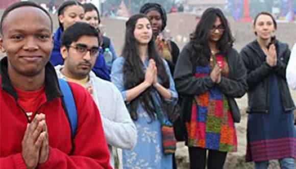 Hindi students