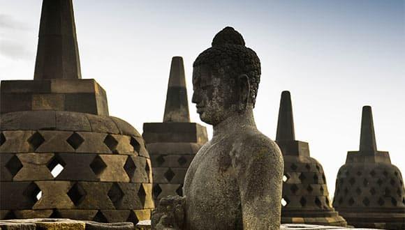 Borobudur statues